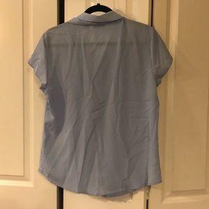 New York & Company Tops - New York & Company Short Sleeve Blouse